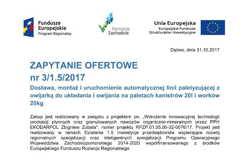 Zapytanie ofertowe 3 1.5 2017-11